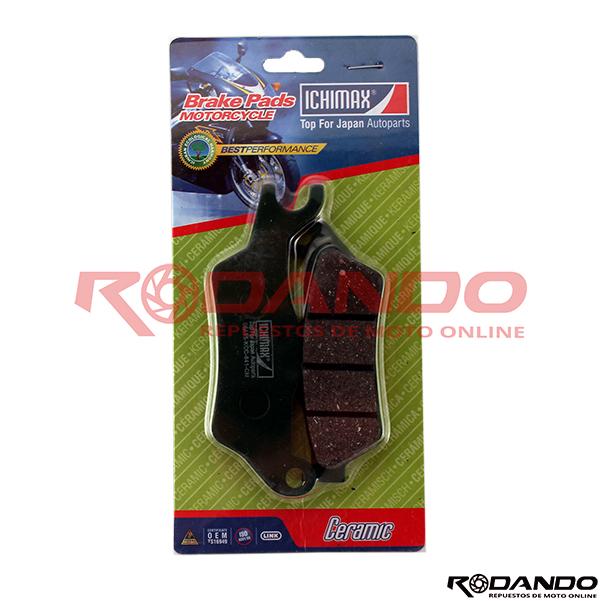 Pastilla-de-Freno-Ceramica-Ichimax-Honda-Invicta-Suzuki-Gixxer-1-601×601