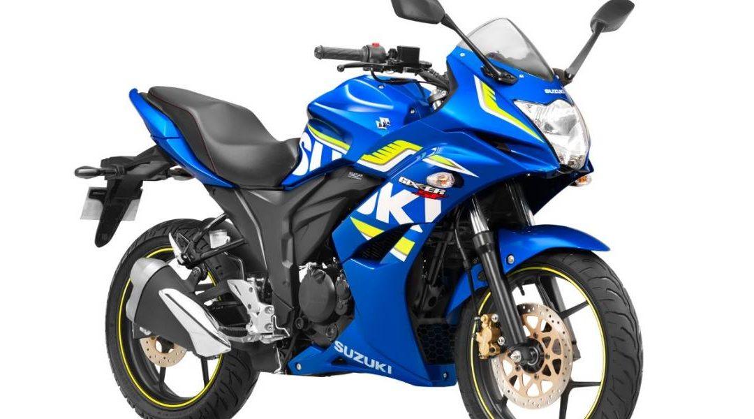 Suzuki incorpora mejoras en su modelo Gixxer