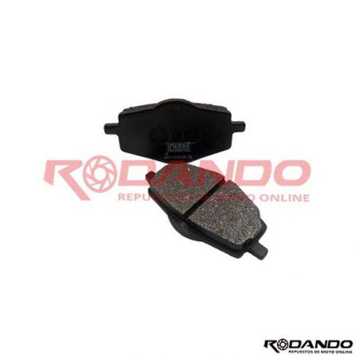 Rep00075JGO PASTILLAS FRENO YBR125/XTZ125-250