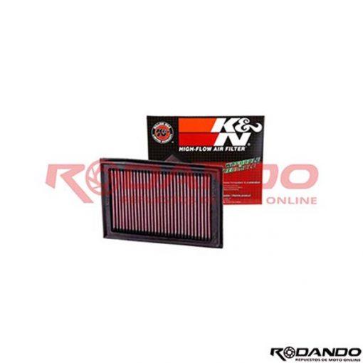 filtro de aire ninja K&N