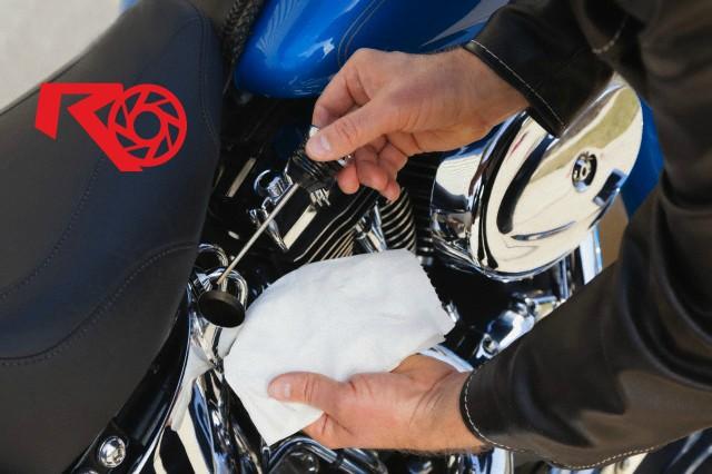 La mantención de tu moto después de un largo viaje.