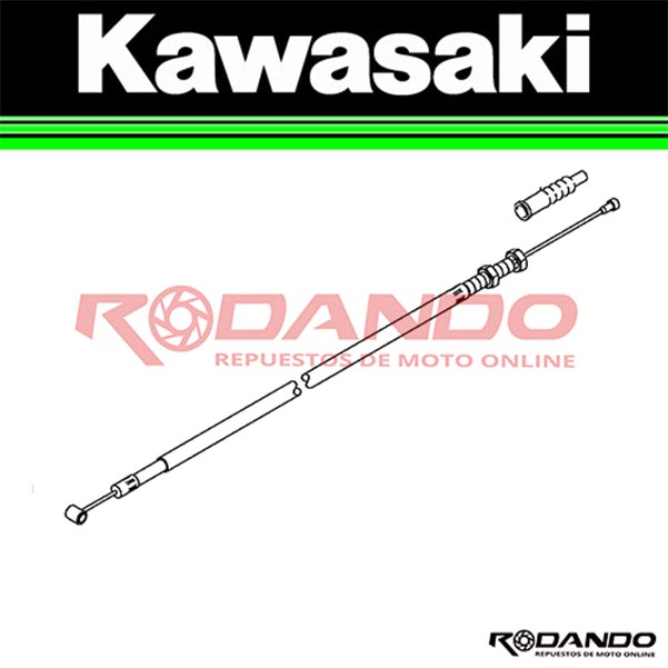 cable embrague Kawasaki ex300 ninja