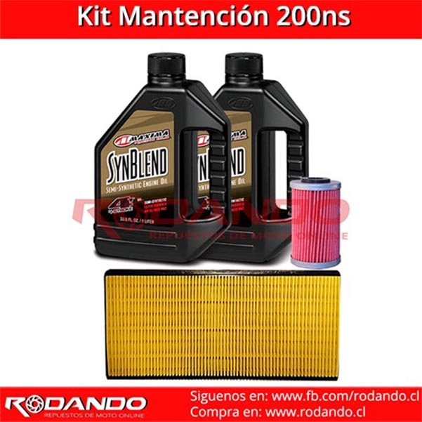 kit mantenimiento200ns