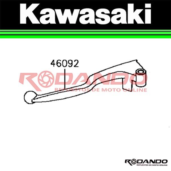 manilla de embrague kawasaki ex 300