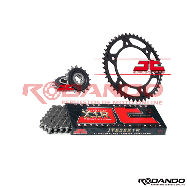 Kit de Arrastre – F800GS – X-Ring – JTSprocket