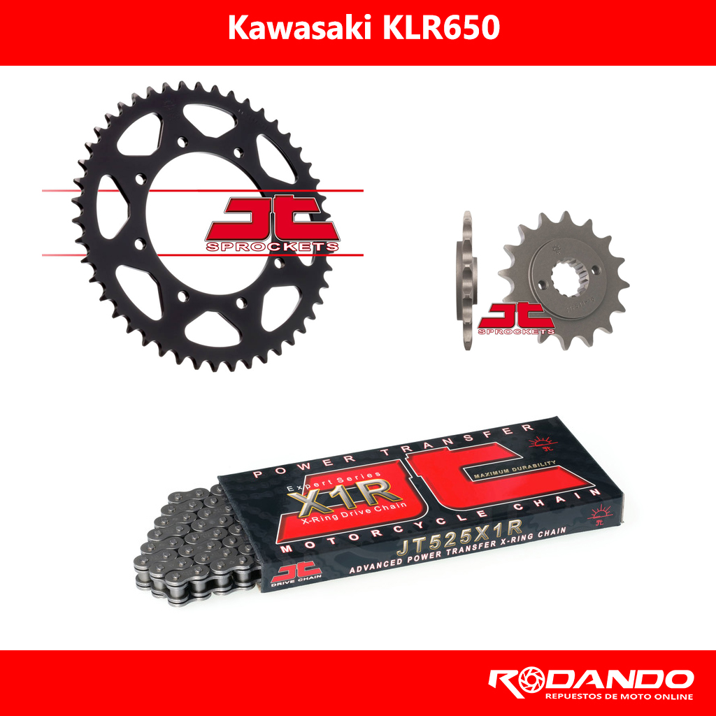 Kit de Arrastre – KLR650 – X-Ring – JTSprocket