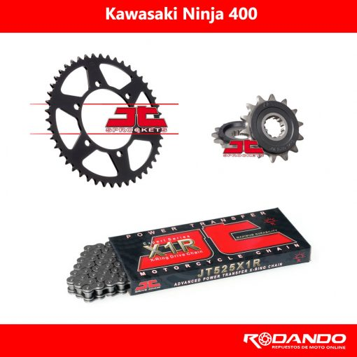 Kit de Arrastre - EX400 - X-Ring - JTSprocket
