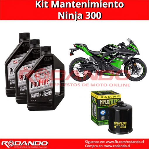 kit mantenimiento ninja 300