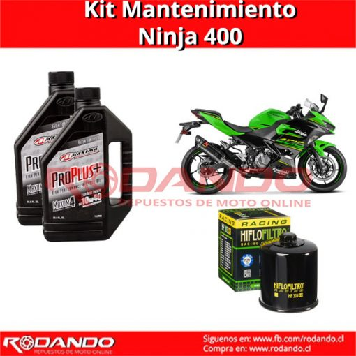 kit mantenimiento ninja 400