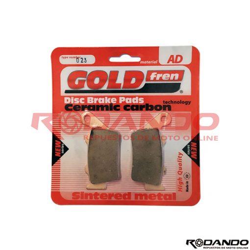 Pastilla de Freno - GoldFren - AD-023