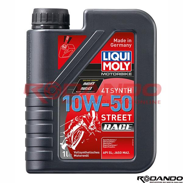 liqui 10w50 street race